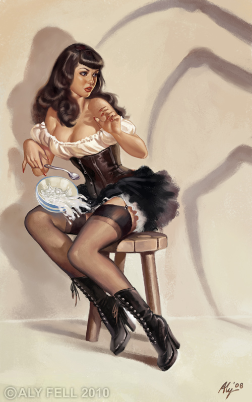Betty Page Inspired